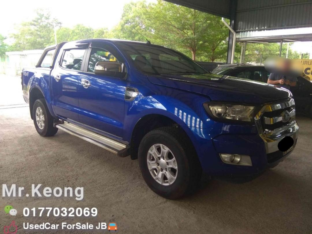 2015TH🚘FORD RANGER XLT 6SPEED 4X4 2.2AT JBPlate Cash OfferPrice💲Rm68,500 Only⚠️UsedCar🚘LowestPrice InJB‼  Call📲KeongForMore🤗