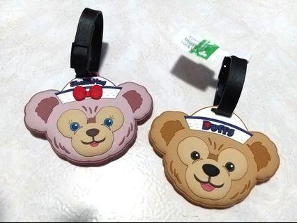 香港 迪士尼 雪莉玫 達菲 水手服系列  行李吊牌組 #情人節快樂