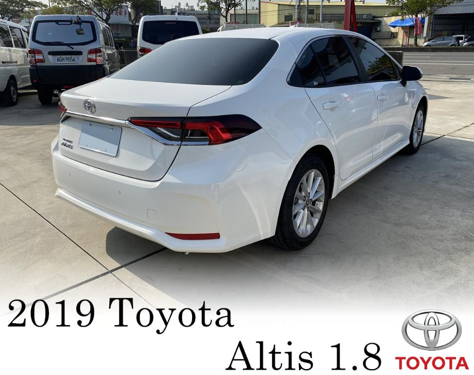 新車保固中 19年 Toyota 豐田 Altis 阿提斯 12代 1.8 豪華版 TCS 影音 ACC LDA 可增貸