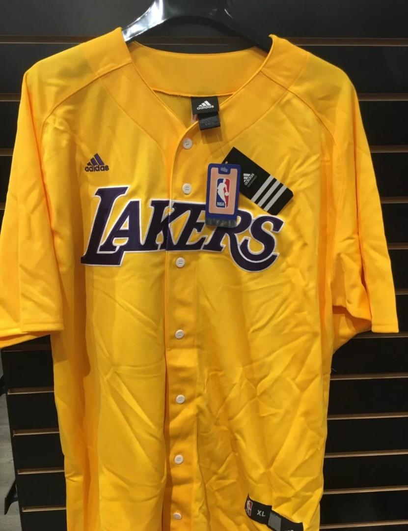 Adidas, LAKERS (Kobe Bryant #24) Baseball Jersey, Men's Fashion ...