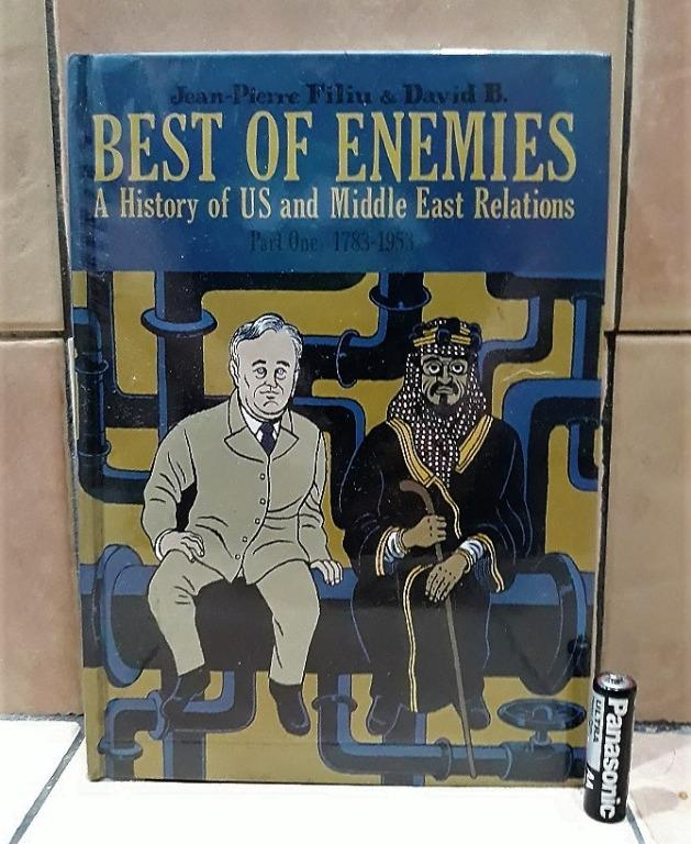Best of Enemies: A History of US and Middle East Relations Part 1 Hardcover