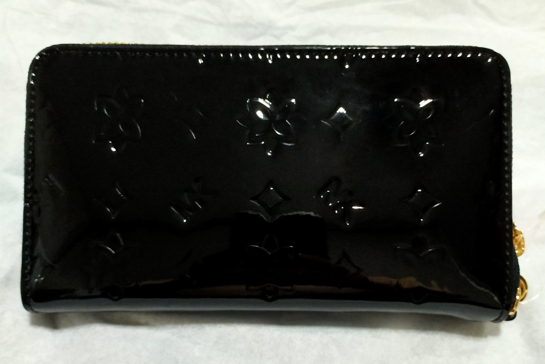 BNWT Michael Kors Jet Set Travel LG Phone Case Mirror Glossy Black/Phone Wallet/Zippy Wallet/Medium Wallet/Zip Around Wallet/MK Wallet