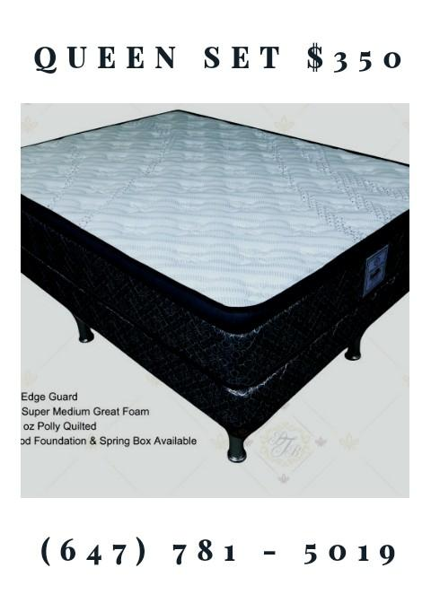 BRAND NEW 2 INCH PRINCE PILLOW TOP MATTRESS ON SALE