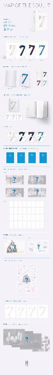 BTS - MAP OF THE SOUL : 7 - versions : ver 1 / ver 2 / ver 3 Ver 4 - PREORDER/READY STOCK + FREE GIFT PHOTOCARDS