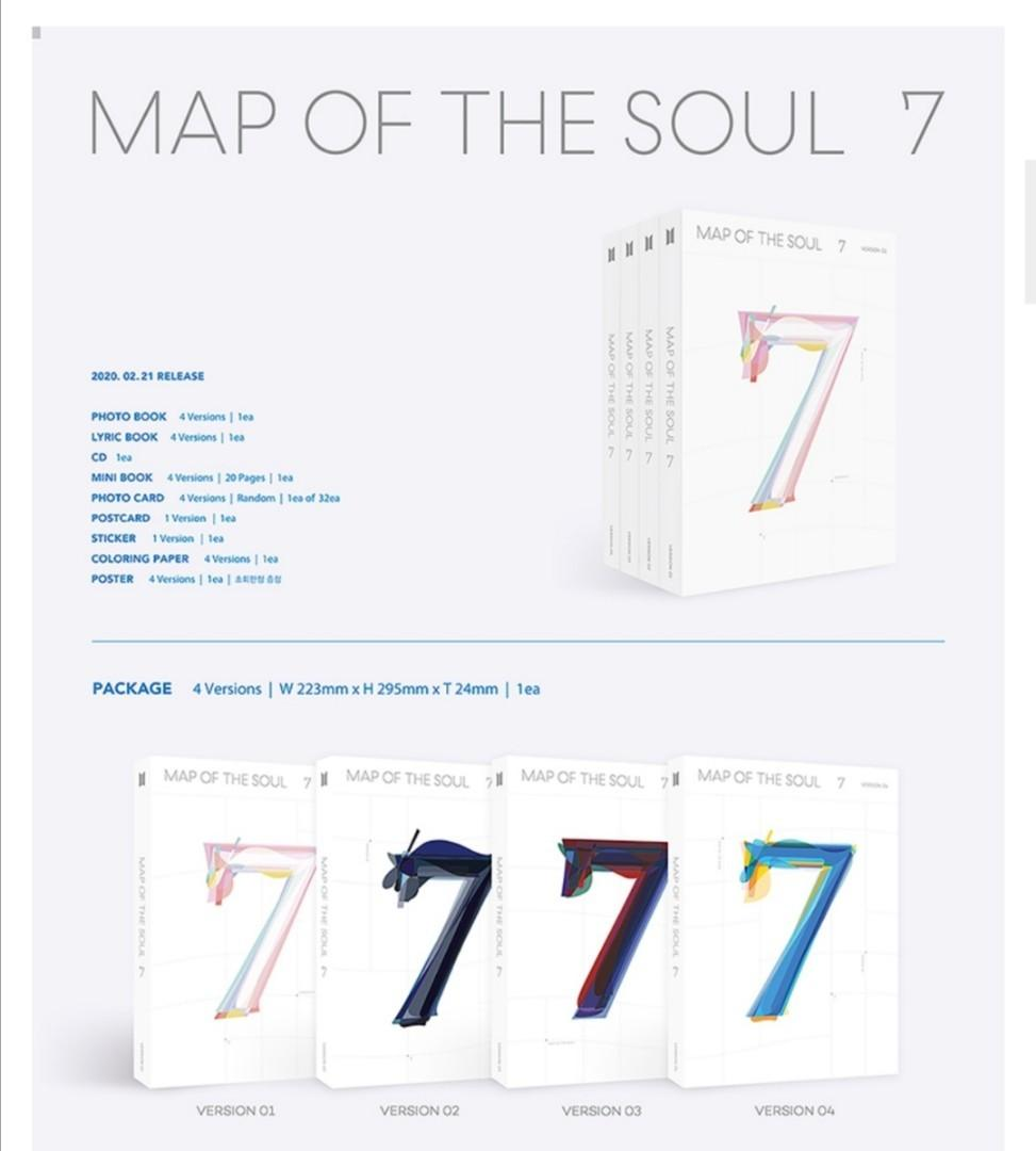 BTS- MAP OF THE SOUL 7