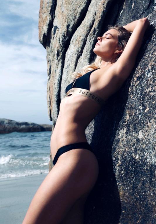 BUTTEENi Black Bikini Set - Luxury Australian Designer All Sizes Available