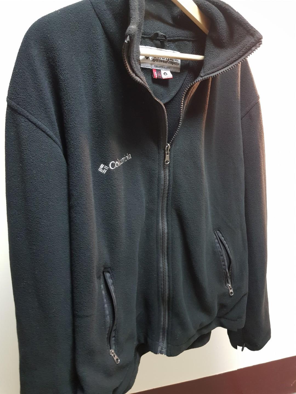 Columbia 發熱材質 搖粒絨 保暖外套 女生XL 男生M號