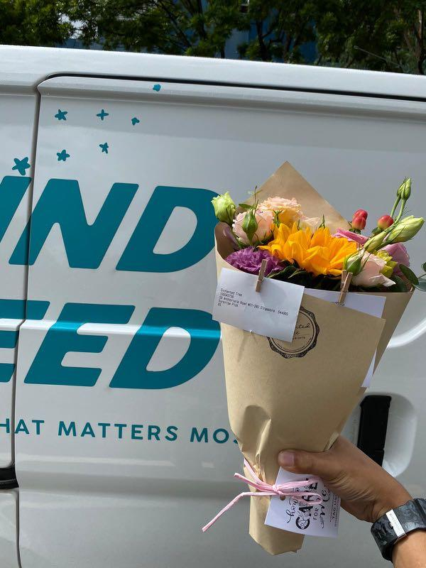 Flower delivery for weekday nights and Sunday morning&noon