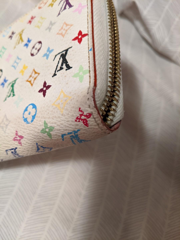Louis Vuitton Multi-color White Insolite long wallet