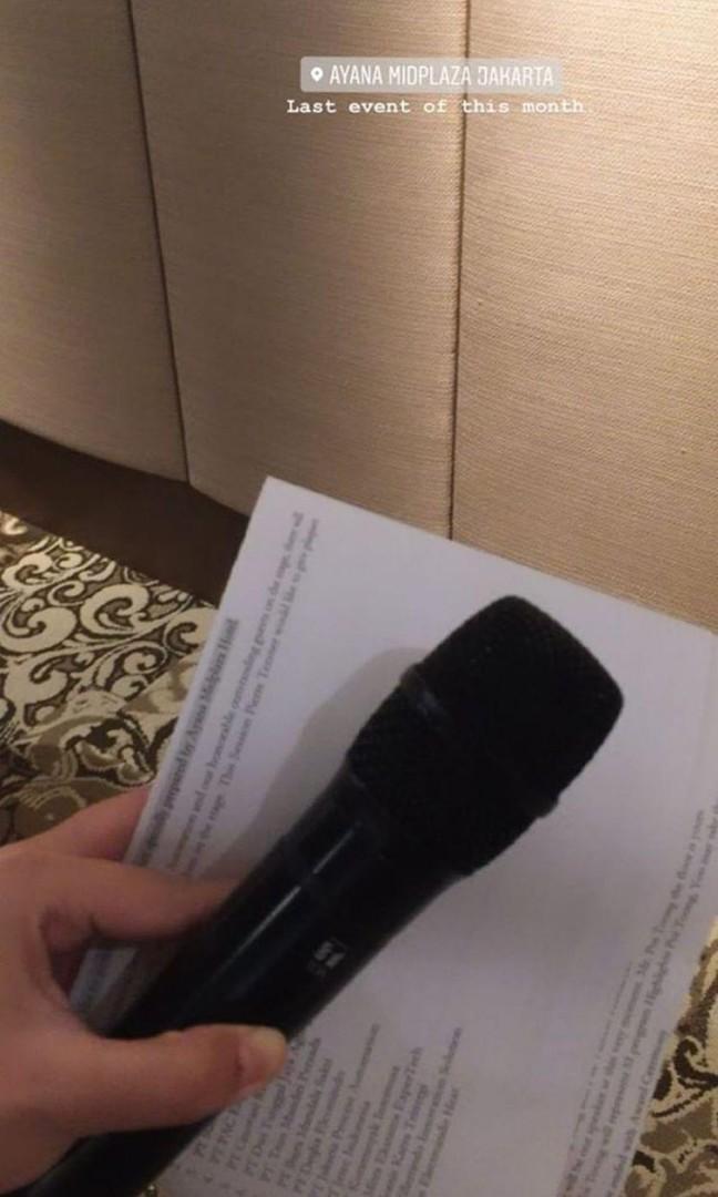 [JASA] Master of Ceremony / news presenter / event host