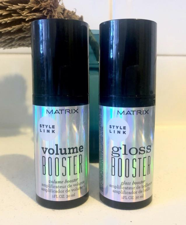 Matrix Volume Booster and Gloss Booster - Used 30ML For Both