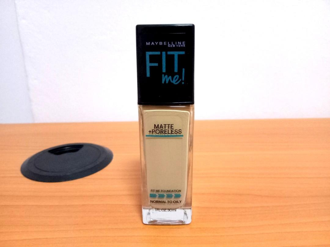 Maybelline Fit Me Foundation With Pump Shade 128 Health Beauty Makeup On Carousell