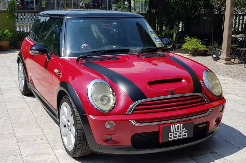Mini Cooper S Register Year 2005/Manufactured Year 2003 (Negotiable)