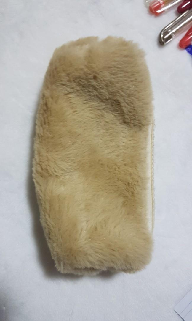 Preloved PEN BUNDLE GTec MyGel My Gel Pilot Refill My Metal FineTech School Supplies with Fur Case