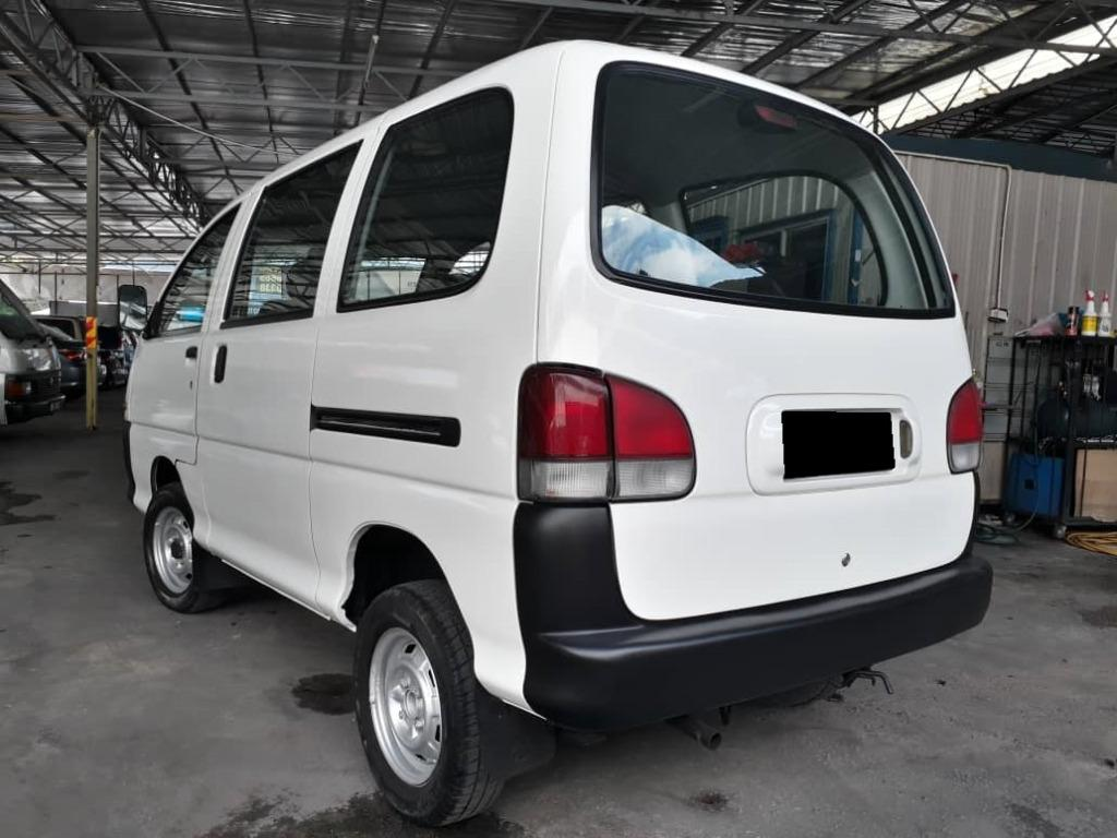 PERODUA RUSA 1.3 (M) VAN GOOD CONDITION NO NEED REPAIR JUST DRIVE.