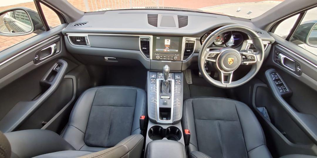 Porsche Macan . Auto