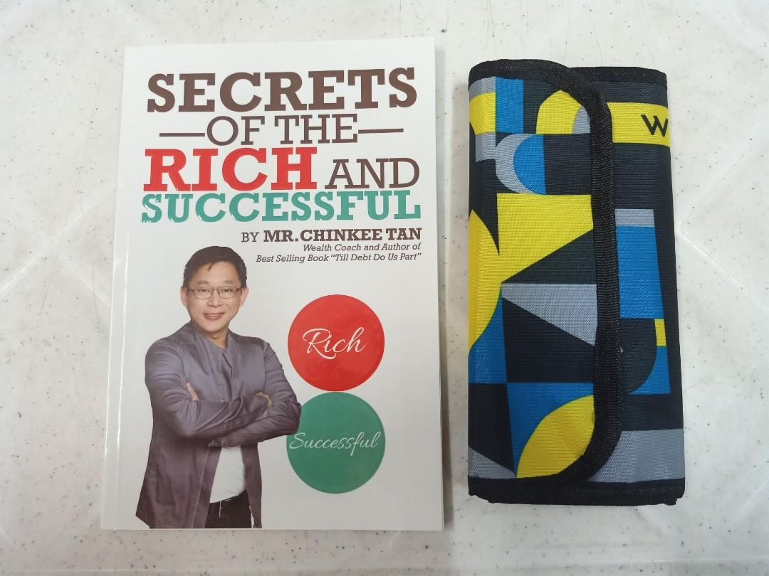 Secrets of the Rich and Successful by Chinkee with free money organizer
