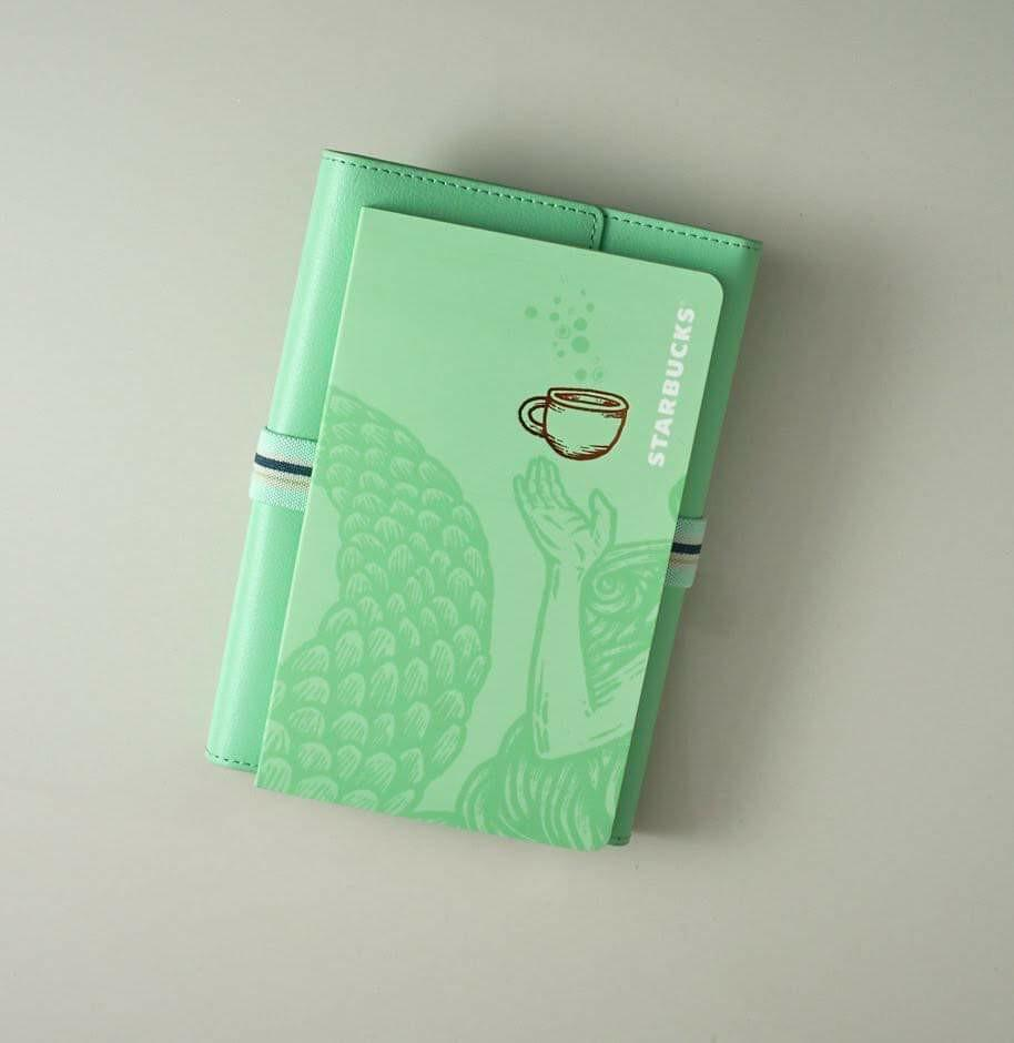 Starbucks 2020 Planner Travel Organizer Mint green and Coffee (both sealed)