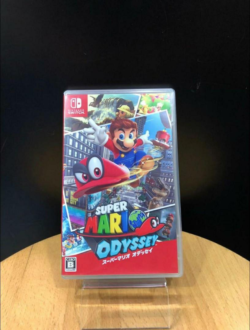 2nd1Switch pre-owned Super Mario Odyssey (international Version) multi language
