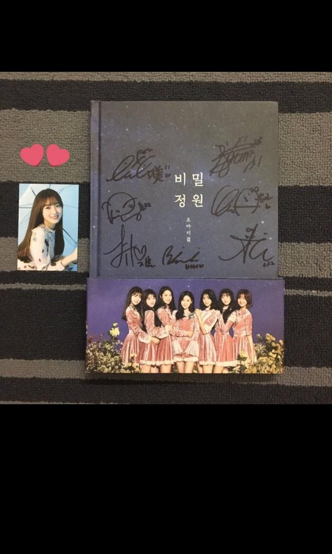 WTB any oh my girl album complete set except fall in love
