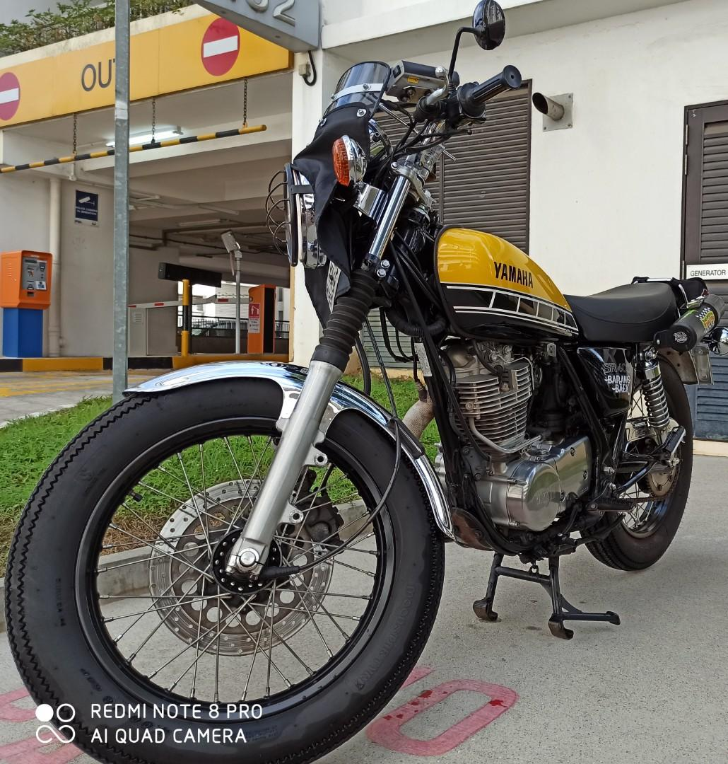 Yamaha SR 400 - 60th Anniversary limited collection.