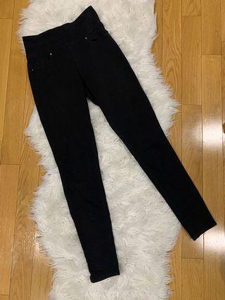 Side zip jeans