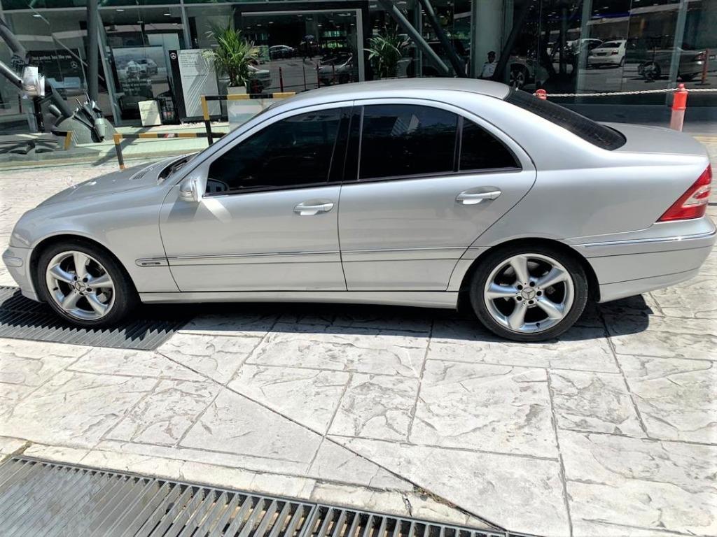 2005 Mercedes-Benz C230K 1.8 Avantgarde Sedan[C200 K][189 hp][90,000KM ONLY][FULL SERVICE RECORD][CAR KING][PROMOTION][ACTUAL YEAR MAKE 2005]