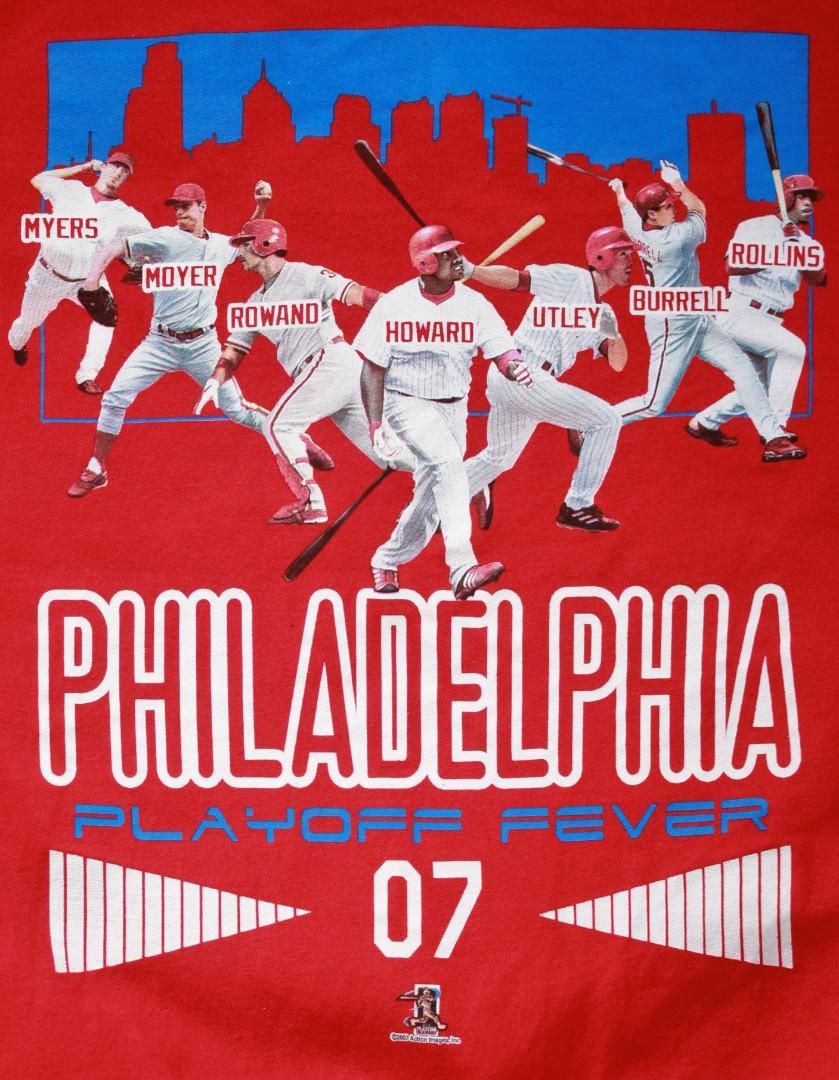 "2007 Philadelphia Phillies ""Playoff Fever 07"" Sweater"