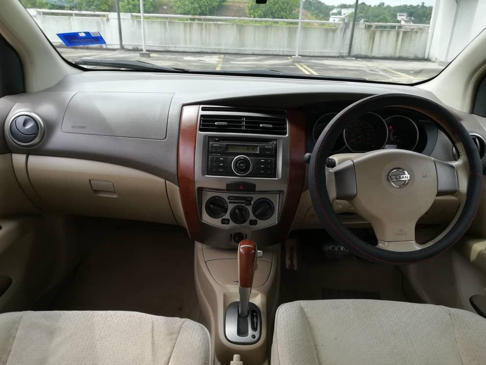 2008 Nissan GRAND LIVINA 1.6 (A) B/L LOAN KEDAI DP 2-3K