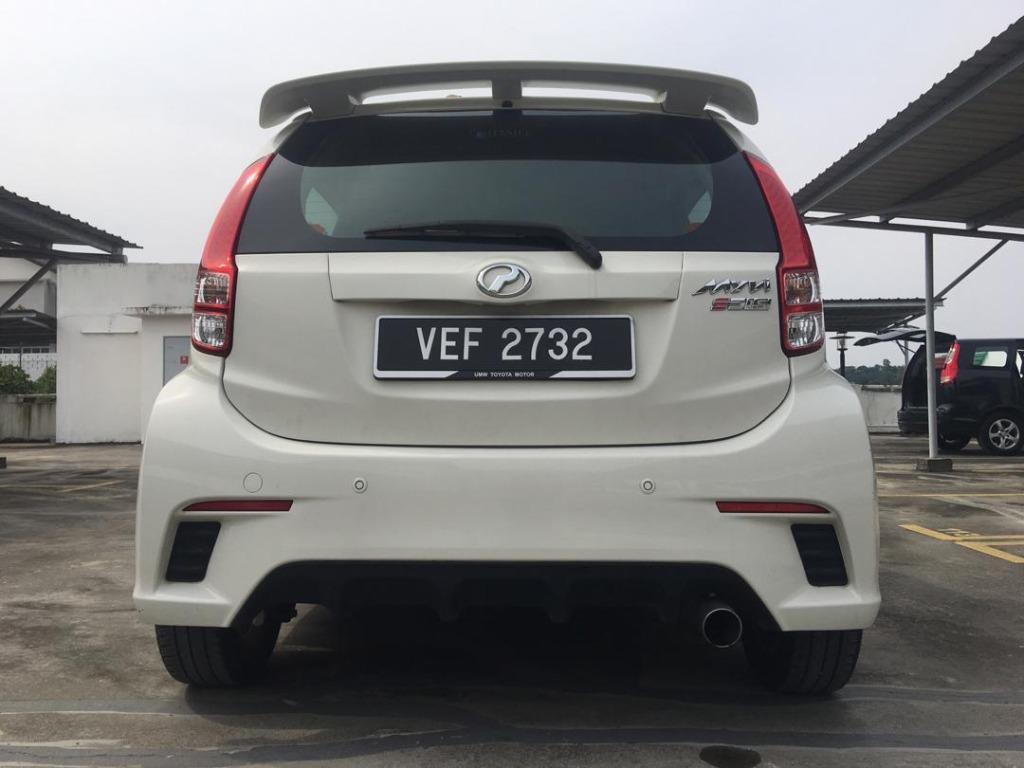 2012 Perodua MYVI 1.5 SE GHS (M) B/L LOAN KEDAI DP 1-2K