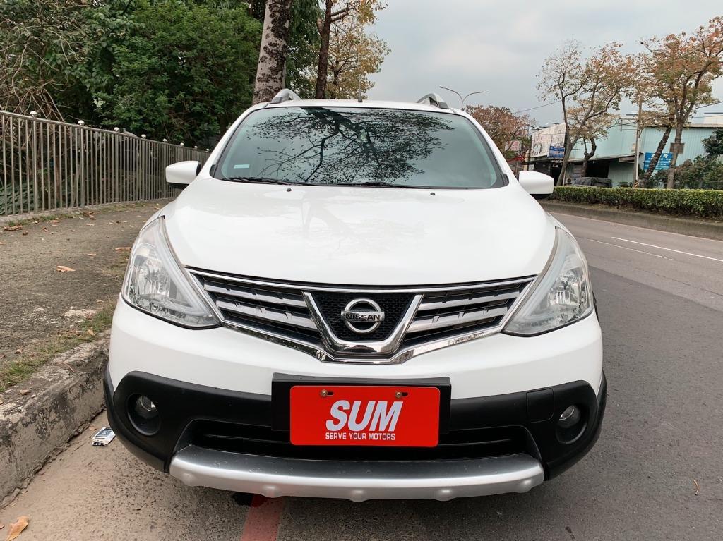 正2015年 最新款 Nissan Livina X-GEAR 1.6頂級豪華影音版 有頂架大包