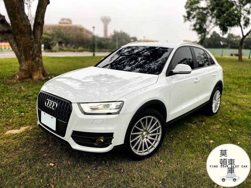 2015年式 Audi Q3 1.4 S-Lind 實車在庫 可認證 只跑6萬 自有保修廠 莫頓車庫