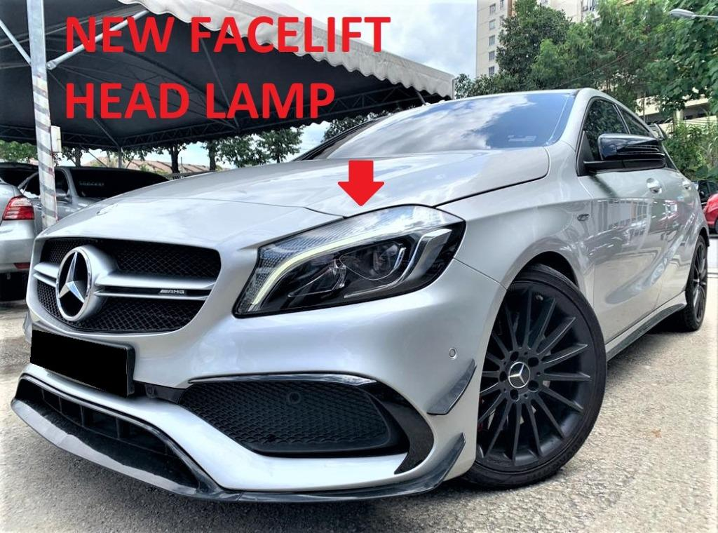 2016 Mercedes-Benz A250 2.0 AMG [NEW FACELIFT][40,000KM ONLY][FULL SERVICE RECORD][1 OWNER] 16