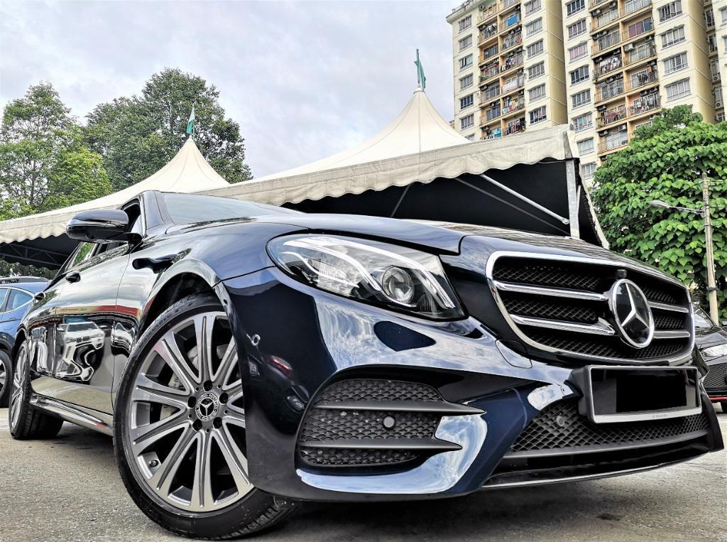 2019 Mercedes-Benz E350 2.0 AMG [PETROL]1300km only F/SERVICE U/WARRANTY ACTUAL YEAR MAKE 2019