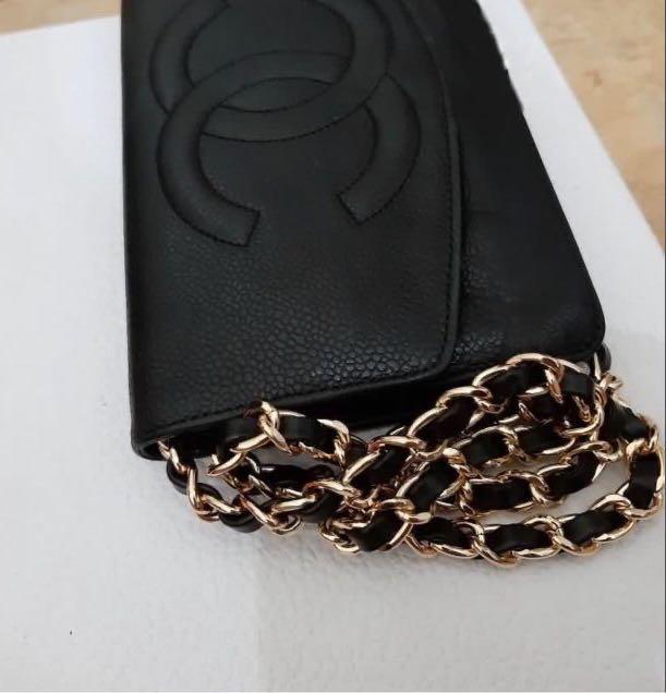 Authentic Chanel Timeless Envelope wallet/organizer (WOC) #ThankYouNext