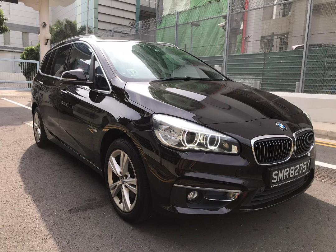 BMW 216d BMW 216D GRAND TOURED LUXURY Auto