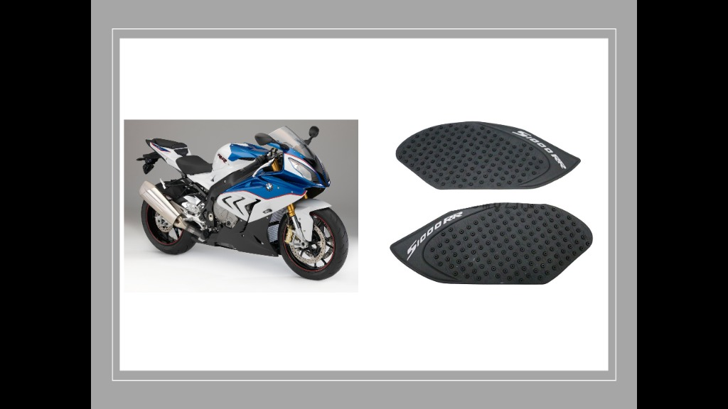 BMW F800R 2009 Eazi-Grip PRO Motorcycle Tank Traction Pad Black