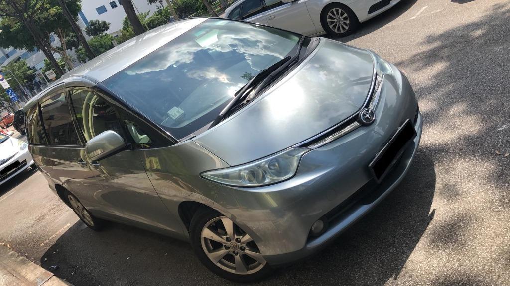 Car Rental Toyota Estima 6-9 March Fri-Mon Weekend Package ( Woodlands 11 )