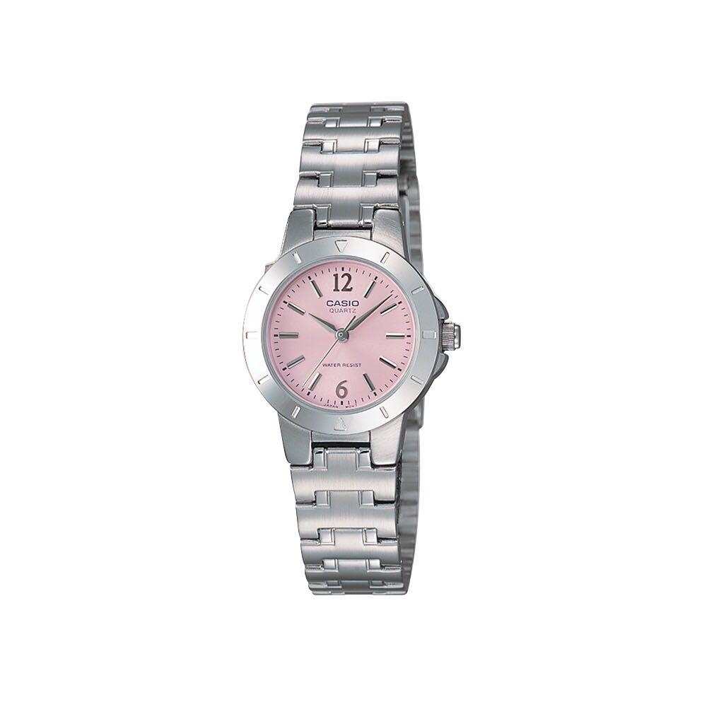 Casio Original General LTP-1177A-4A1 Silver Stainless Steel Band Women Watch