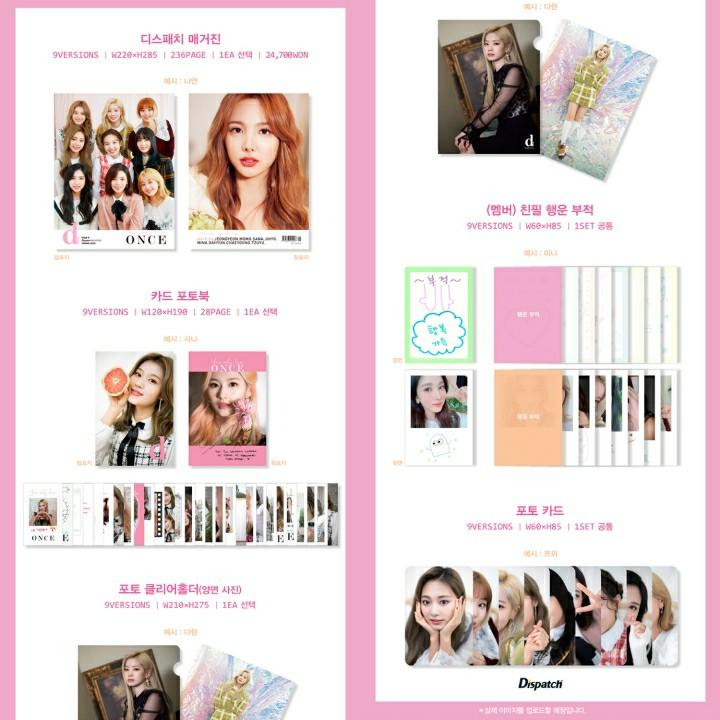 [DIRECT SHIPPING] Magazine D-icon Vol.7 TWICE, You only live ONCE