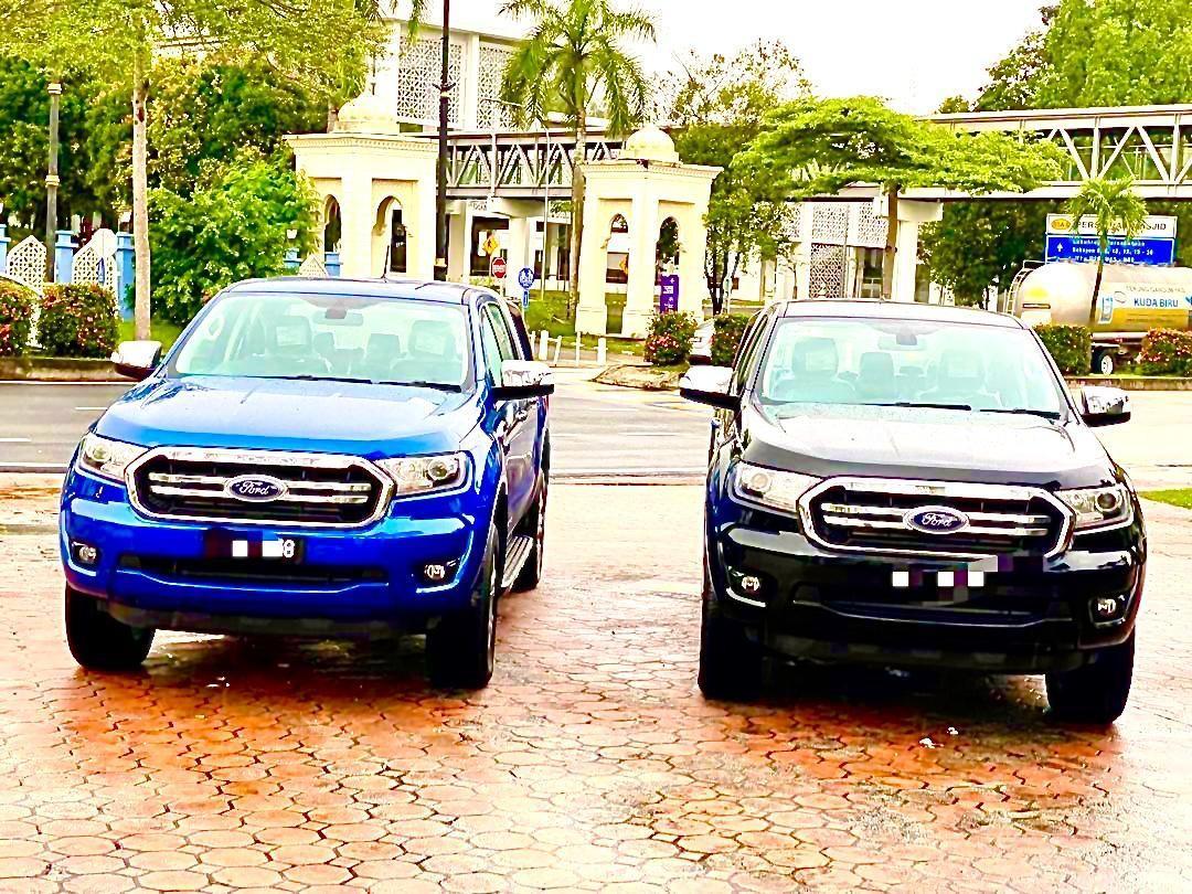 FORD RANGER BLUE 2.0 XLT PLUS LIMITED  AUTO 4WD PUSH START KEYLESS 10 SPEED  2019/2020
