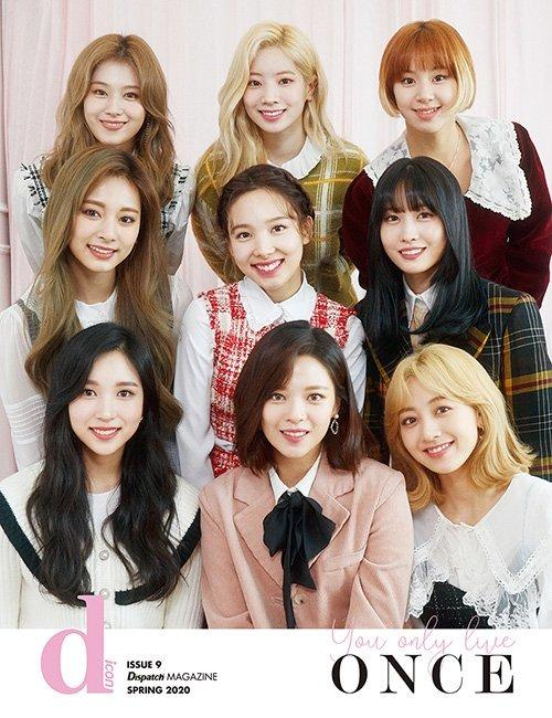 [GO] D-icon Magazine : Vol.7 TWICE (Members Cover) [236 pages] All pages is TWICE PHOTO