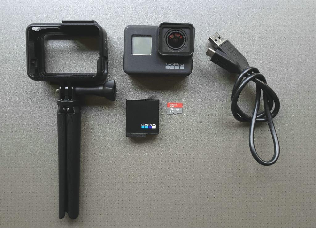GoPro Hero 7 Black + SanDisk Ultra 128GB + GoPro Micro-tripod