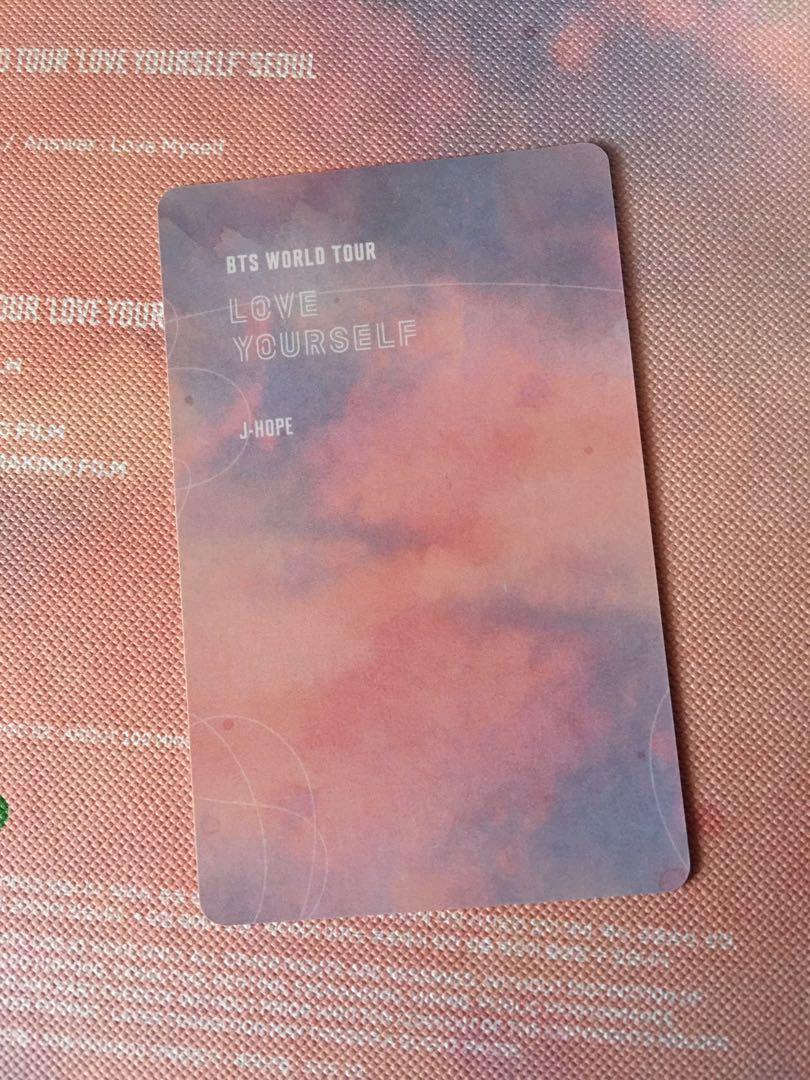 [LFB/WTS] BTS Love Yourself in Seoul J-Hope Photocard