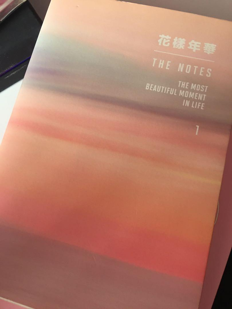 [LFB/WTS] BTS The Notes 1 (The Most Beautiful Moments in Life)