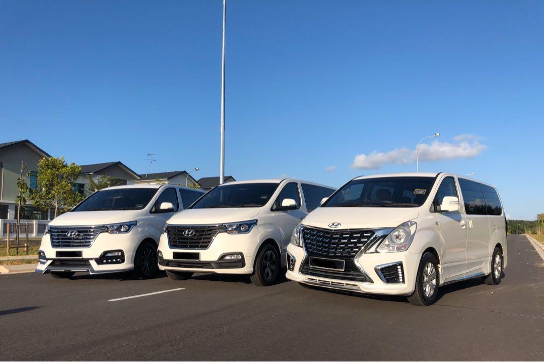 MPV Hyundai Starex 11 Seater/ Chauffeur/ Rental/ Tour/ Trip/ Private Hire/ Transport to Malaysia