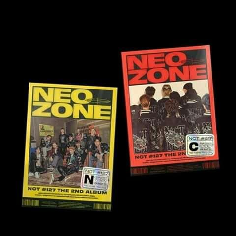 NCT 127 - Album Vol.2 [NCT #127 Neo Zone] (Random Ver.)
