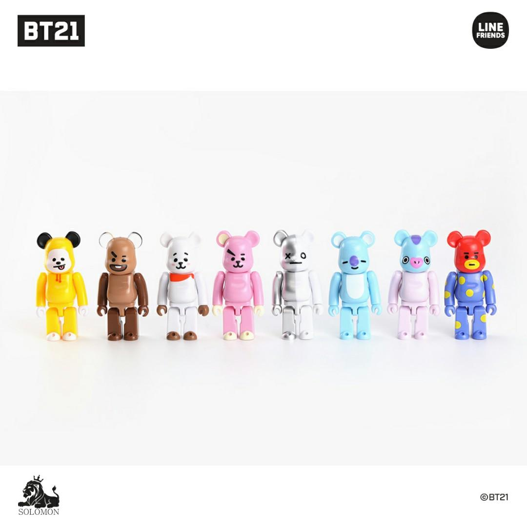 (PO) Official BTS BT21 Bearbrick (Random Character)