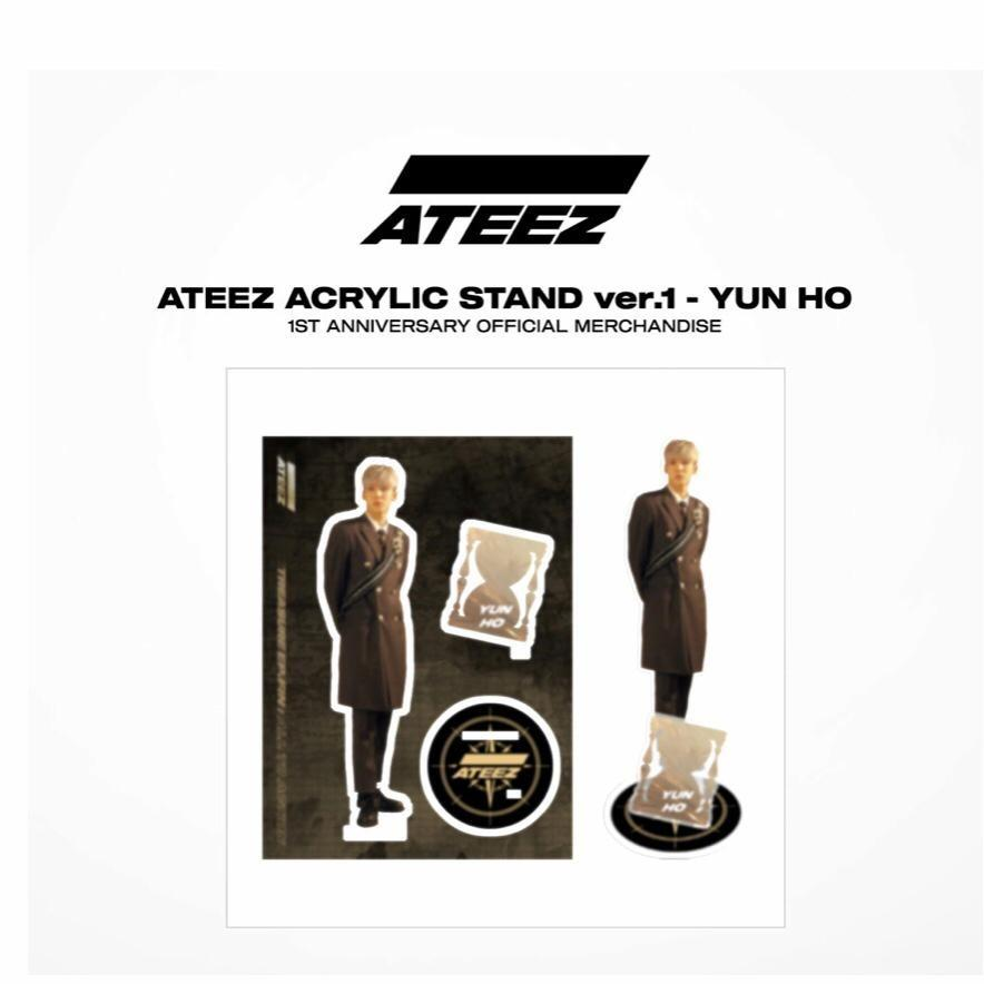 [PRE-ORDER] ATEEZ 1st OFFICIAL MERCHANDISE (Acrylic Stand Ver.1).