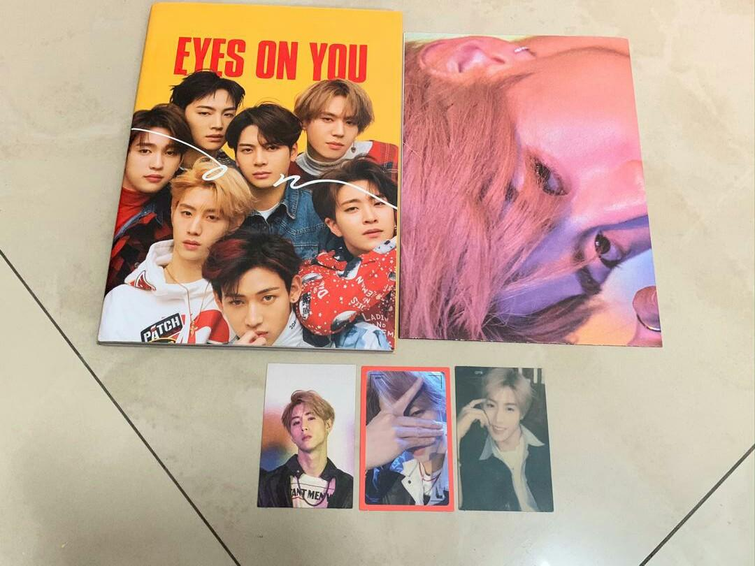 [READYSTOCK ] GOT7 - EYES ON YOU ALBUM (MARK PC / FOLDED POSTER)